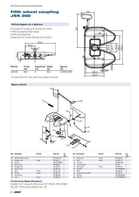 35 Tractor Trailer Fifth Wheel Diagram
