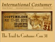 May-June 2013 - International Costumers' Guild, Inc.