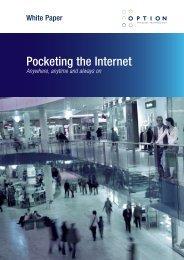 Option White paper – Pocketing the internet