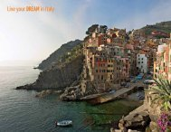 Live your DREAMin Italy - Paradise Yacht Charters