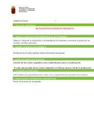 REUTILIZACION DE RESIDUOS ORGANICOS Gestión ... - Proexport