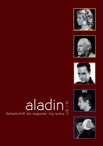 fachzeitschrift des magischen ring austria 04 / 2011