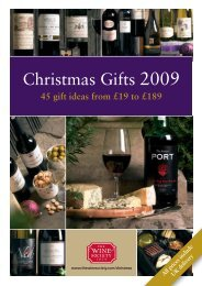 Christmas Gifts 2009 - The Wine Society