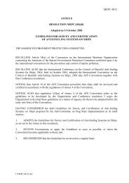 MEPC 48/21 ANNEX 8 RESOLUTION MEPC.102(48) Adopted on ...