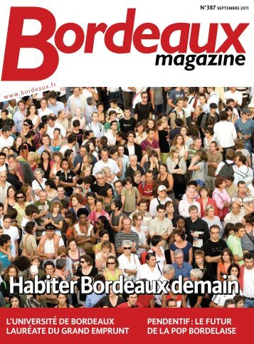 Bordeaux magazine n°387 - Septembre 2011
