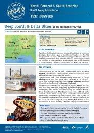 Deep South & Delta Blues 12 Day premium hotel tour - Adventure ...