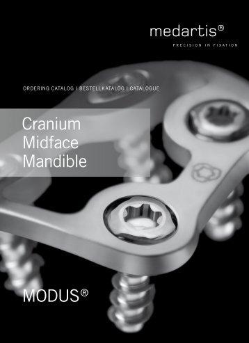 MODUS® cranium Midface Mandible