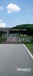 ROAD AHEAD COUNSEL - Benesch