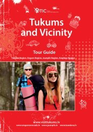Tukums and Vicinity - Latvian Tourism Development Agency