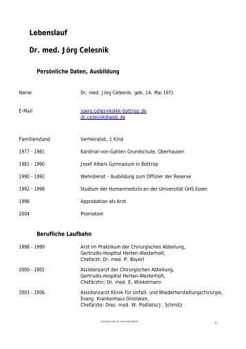 Lebenslauf - Wey-partner.de