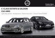 Product News - Carlsson Autotechnik