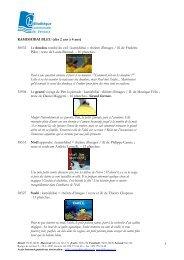 2008 kamishibai liste par niveau de lecture AVEC ... - Versoix