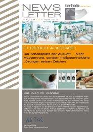 Der Arbeitsplatz der Zukunft - nicht Massenware ... - iafob deutschland