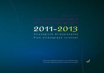 Strategisch Driejarenplan 2011-2013 - Centrum voor gelijkheid van ...