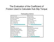 The Evaluation of the Coefficient of Friction Used to ... - TurboLab