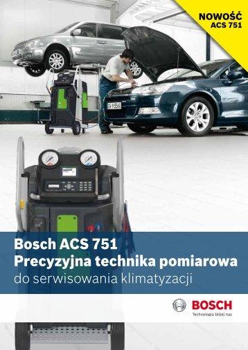 Bosch ACS 751 Precyzyjna technika pomiarowa - Bosch Koszalin
