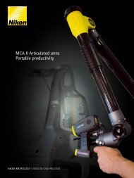 MCA II Articulated arms Portable productivity - JW Donchin CO.