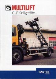 Prospekt MULTILIFT CLF-Seilgeräte