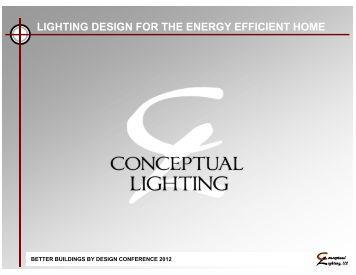 lighting design for the energy efficient home - Efficiency Vermont