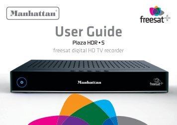 Plaza HDR-S User Guide v1.6 - Manhattan