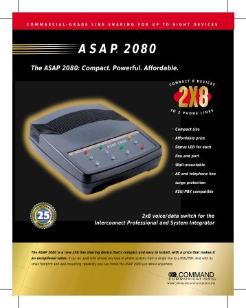 ASAP 2080 - Jenne Inc.