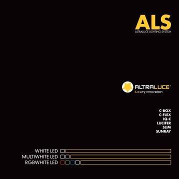 ALTRALUCE_Catalogo ALS Altraluce Lighting System v5