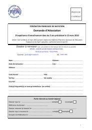 Demande d'Attestation - Comité Ile de France - Fédération ...