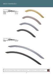 arch handles pg70-71 - Roco