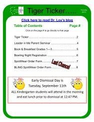 Ticker 9-6-12 - Rockwood School District