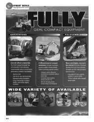 GEl—lL COMPACT EQUIPMENT - Equipment World Inc.