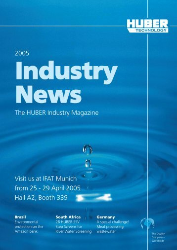 Industry Report, issue 2005, english - Hans Huber AG