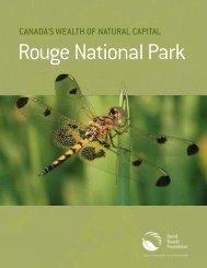 Canada's wealth of natural Capital: rouge - David Suzuki Foundation