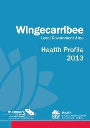 Wingecarribee - South Western Sydney Local Health District - NSW ...
