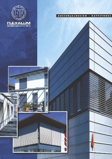 aussenjalousien - raffstores - Rolladen Hermann Uhr GmbH