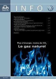 Pour tout savoir sur le gaz naturel, téléchargez ce pdf - Volkswagen