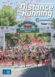 The entire 2013 Edition 3 - Distance Running magazine