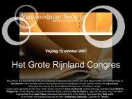 Het Grote Rijnland Congres - Chaosforum