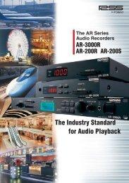 AR Series Brochure - Roland Systems Group