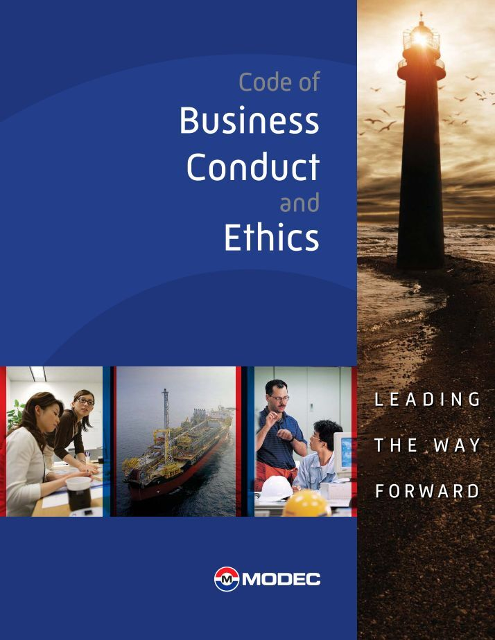 code of business conduct and ethics