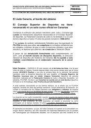 Denuncia Titulaciones Judo - Federación Española A. de Jiu Jitsu y ...