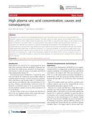 High plasma uric acid concentration: causes and consequences
