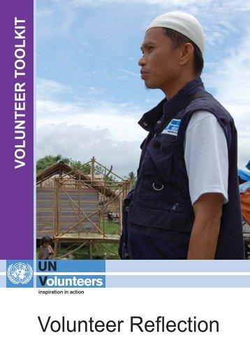 Volunteer reflection - United Nations Volunteers