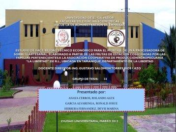 Descargar (5Mb) - Universidad de El Salvador