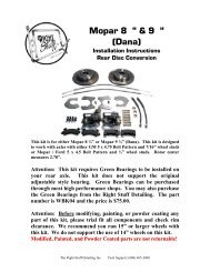The Right Stuff HKT5701S Stainless Manual Drum Front Brake Line Kit 3 Piece