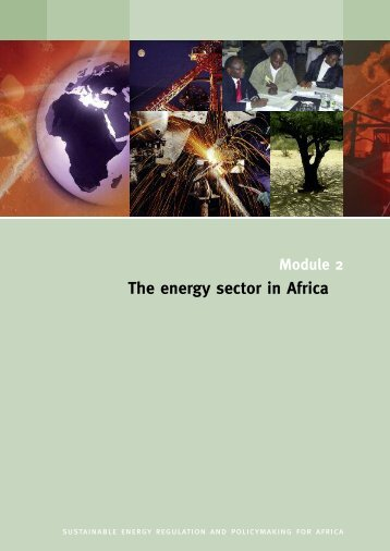 The energy sector in Africa - REEEP / UNIDO Training Package