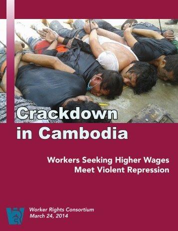 WRC Report - Crackdown in Cambodia 3.24.14