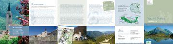 Sentieri Natura Venzone - Parco Naturale delle Prealpi Giulie