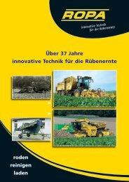 Über 37 Jahre innovative Technik für die ... - ROPA Fahrzeug