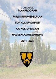 planprogram for kommunedelplan for kulturminner og kulturmiljø i ...