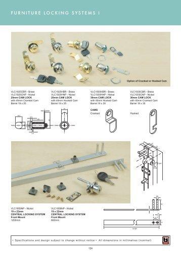 furniture locking systems pg 124-125 - Roco